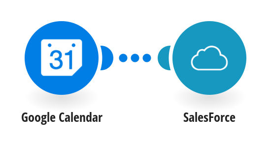 Create Salesforce events from new Google calendar events