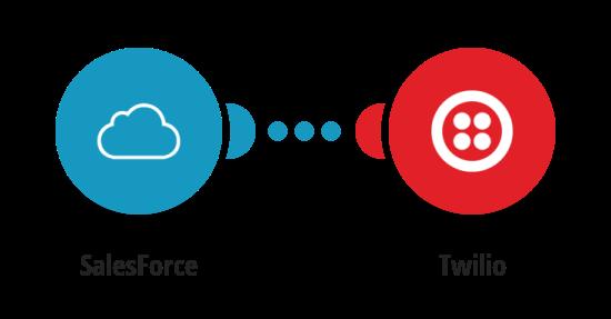 Zaslání SMS zprávy přes Twilio o novém profilu v SalesForce