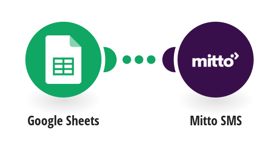 Send a new Mitto SMS from new rows in a Google Sheets spreadsheet