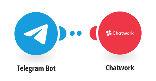 Create new messages in Chatwork for new messages in Telegram