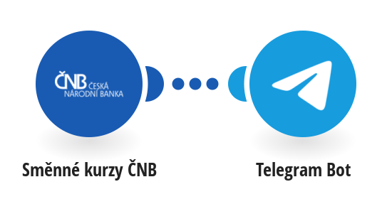 Get daily currency exchange rate from ČNB in Telegram