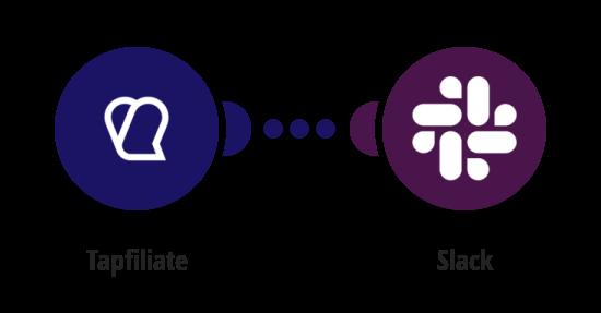 Send Slack messages for new Tapfiliate conversions