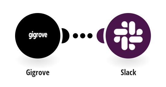 Send Slack messages for new orders in Gigrove
