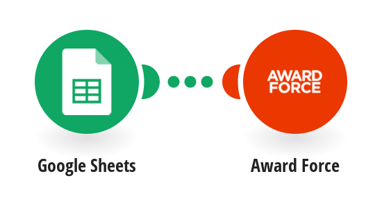 Create new entries in Award Force from new rows in Google Sheets