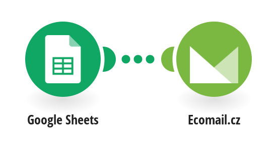 Create Ecomail.cz subscribers from new Google Sheets rows
