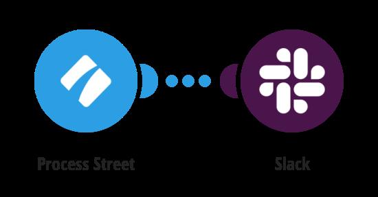Send Slack messages for Process Street tasks