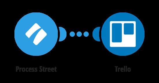Create Trello cards for new Process Street tasks