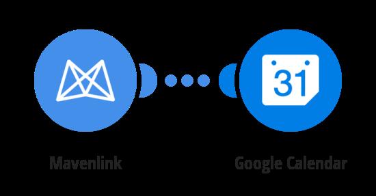 Add Mavenlink tasks to a Google Calendar