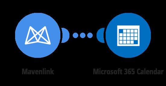 Add Mavenlink tasks to a Microsoft 365 Calendar