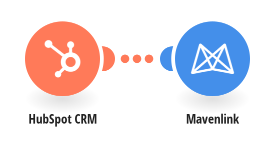 Create new Mavenlink tasks from HubSpot CRM deals