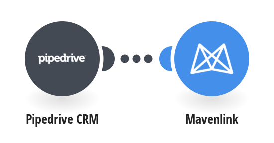 Create new Mavenlink tasks from Pipedrive CRM deals