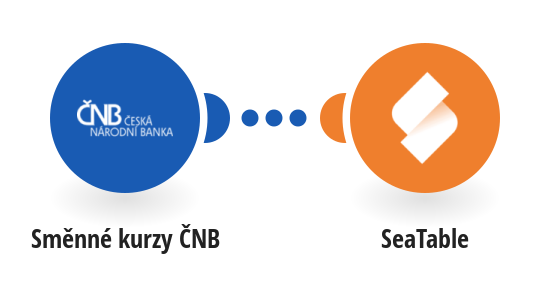 Get daily currency exchange rates from ČNB to SeaTable