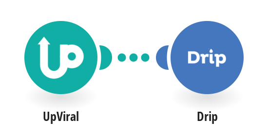 Create new Drip subscribers from new UpViral contacts