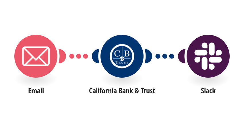 Post your California Bank & Trust account balance to Slack