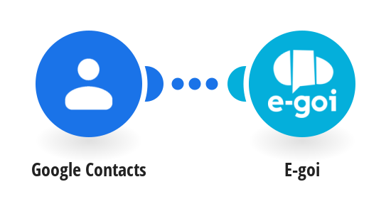 Send new Google contacts to E-goi Contacts