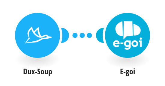Connect Dux-Soup to E-goi