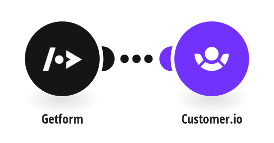 Create new customers in Customer.io from new GetForm submissions
