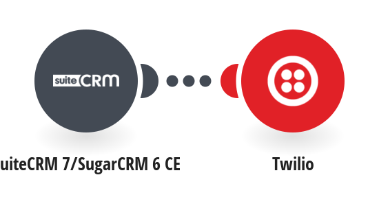 Send Twilio SMS messages for new SuiteCRM 7 projects