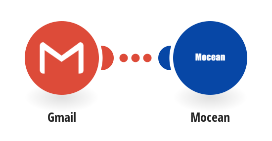 Send a Mocean SMS from a new email in Gmail
