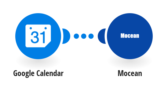 Send a Mocean SMS from a new/updated event in Google Calendar