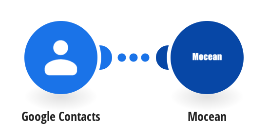 Send a Mocean SMS from a new contact in Google Contacts