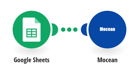 Send a Mocean SMS from a new row in a Google Sheets spreadsheet