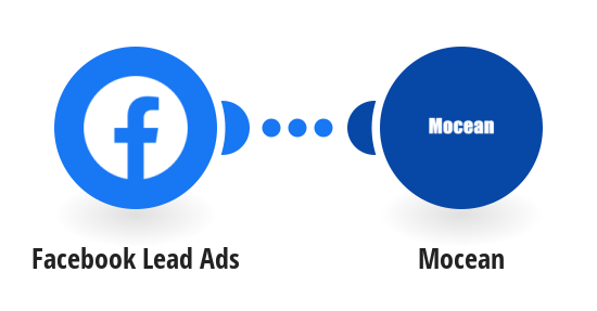 Send a Mocean SMS from a new lead in Facebook Lead Ads