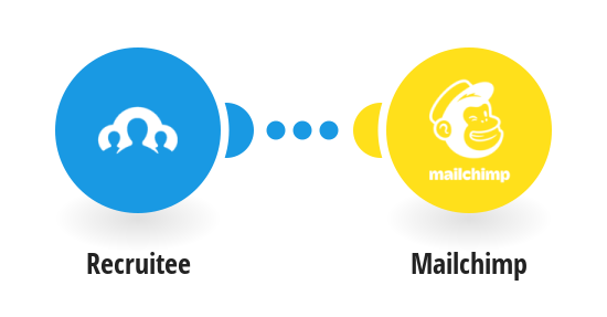 Add subscribers to Mailchimp for new Recruitee candidates