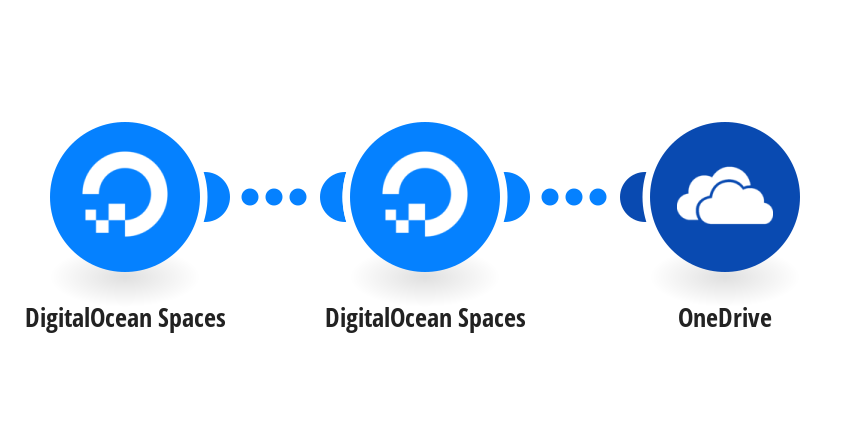 Upload new DigitalOcean Spaces files to OneDrive