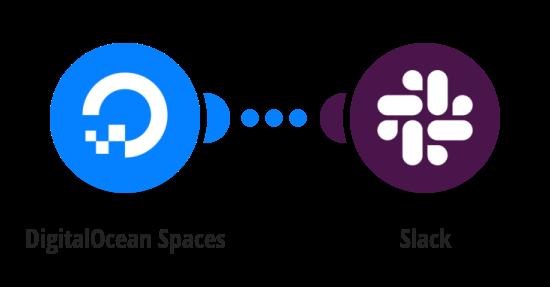 Send Slack messages for new DigitalOcean Spaces files