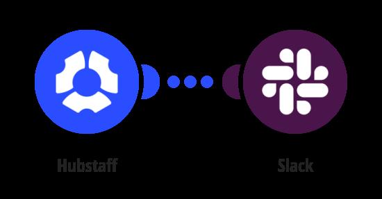Send Slack messages when employees miss their shift in Hubstaff