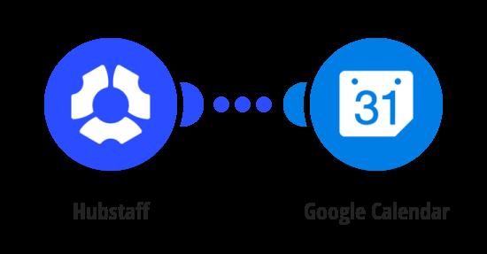 Add Google Calendar events for new Hubstaff schedules