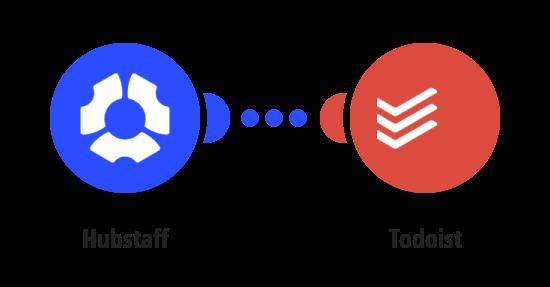 Create Todoist tasks for new Hubstaff tasks