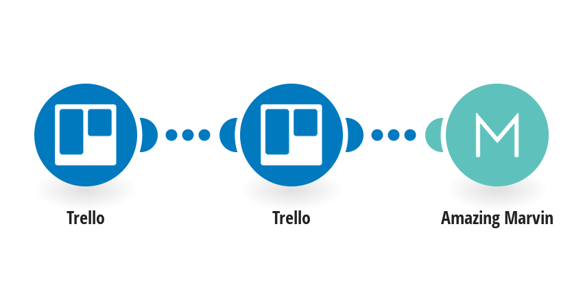 Create Amazing Marvin tasks from new Trello cards