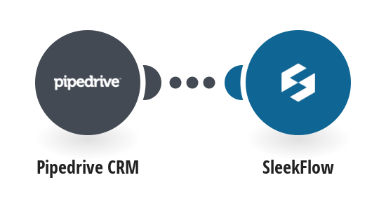 Create Sleekflow contacts from Pipedrive CRM deals