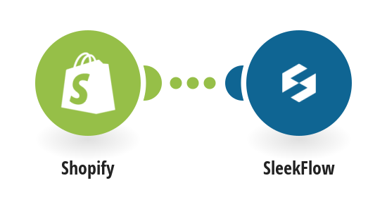 Create SleekFlow contacts from new Shopify orders