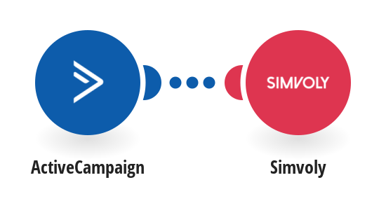 Add a new ActiveCampaign contacts to Simvoly
