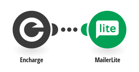 Add new MailerLite subscribers from Encharge people