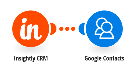Add new Insightly CRM contacts to Google Contacts
