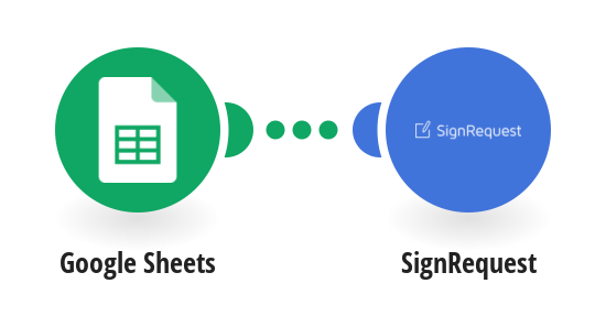 Send SignRequests from new Google Sheets spreadsheet rows