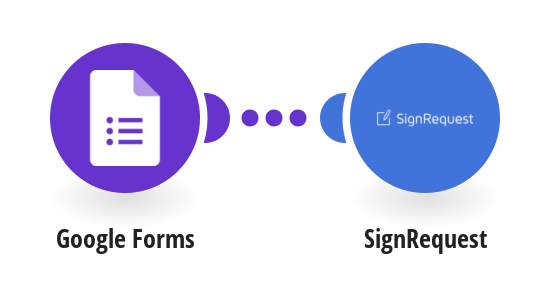 Send SignRequests from templates for new Google Forms responses