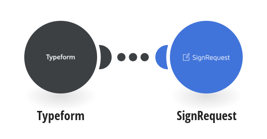 Send SignRequests from templates for new Typeform responses