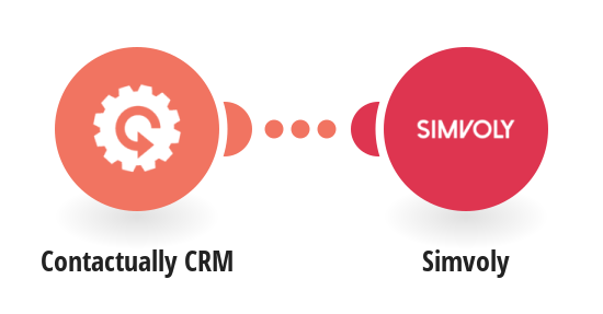 Create Simvoly contacts for new Contactually CRM contacts
