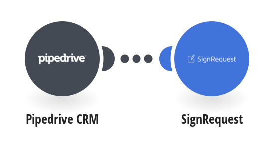 Send SignRequests when Pipedrive CRM deals are updated