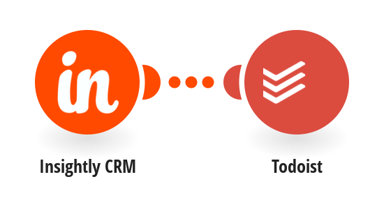 Vytvoření úkolu v Todoistu z nového úkolu v Insightly CRM