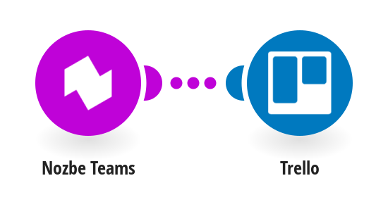 Add new Nozbe Teams tasks to Trello as a new cards