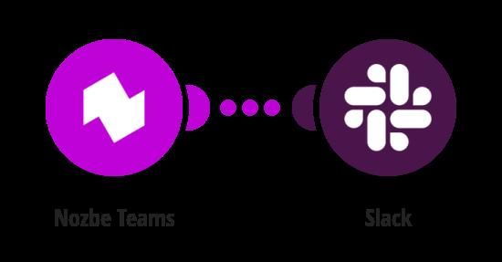 Get Slack notifications about new Nozbe Teams tasks