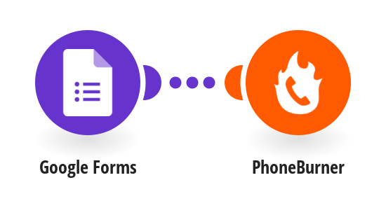 Add contacts to a PhoneBurner from new Google Forms responses
