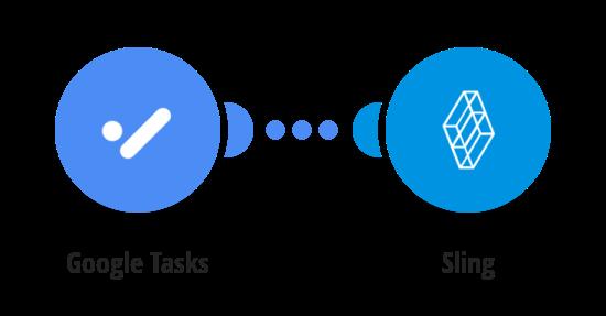 Create Sling tasks for new tasks in Google Tasks