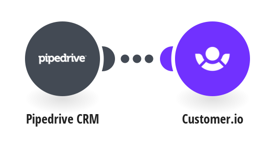 Add new people from Pipedrive CRM to Customer.io